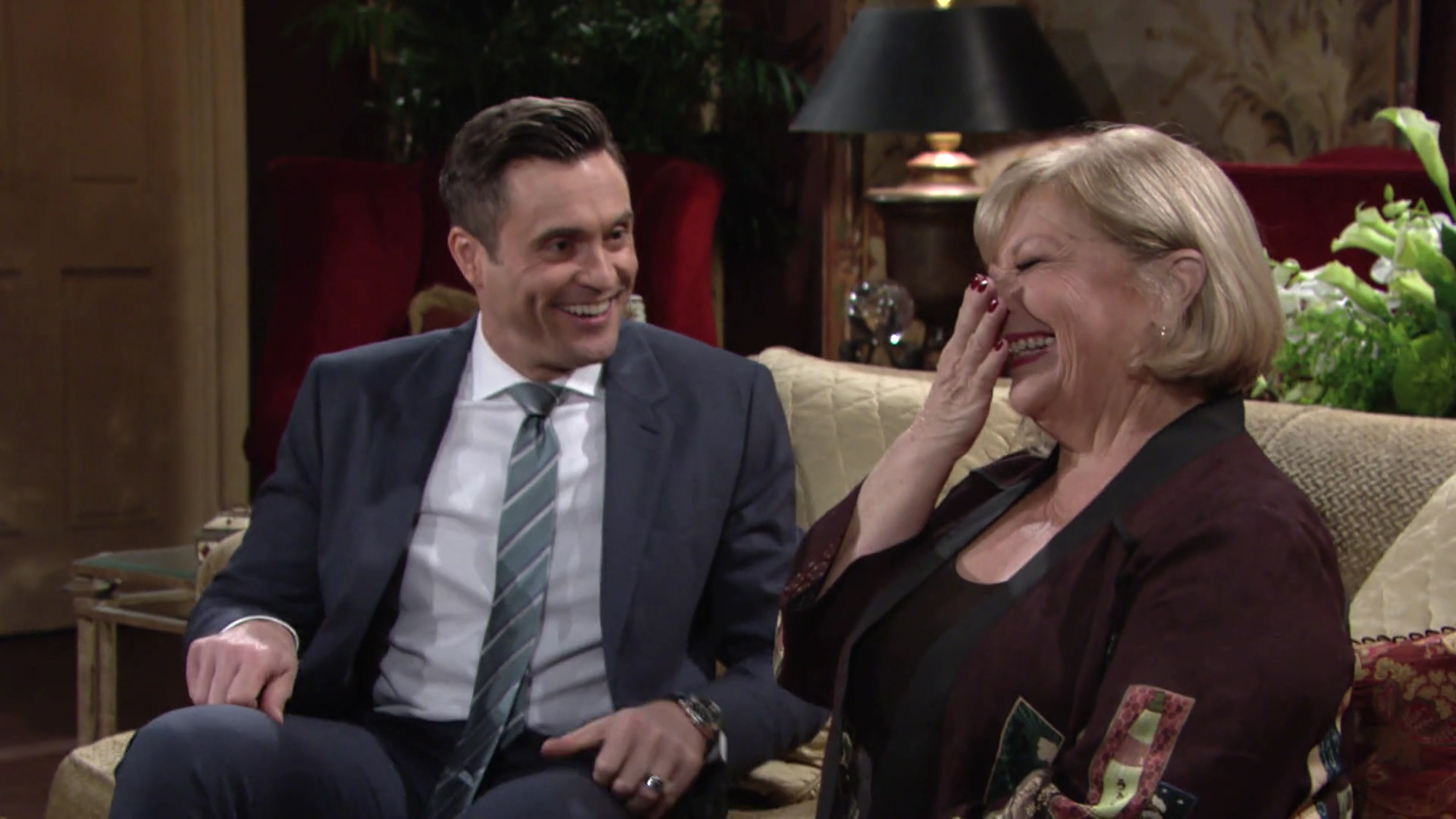 Cane And Traci Being Friendly The Young And The Restless Y R Chat